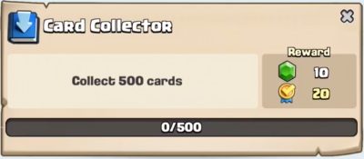 Card Collector Quest Clash Royale