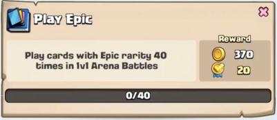 Play Epic Quest Clash Royale
