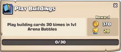Play Buildings Quest Clash Royale