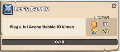 Let's Battle Quest Clash Royale