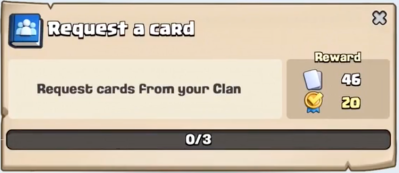 Request a Card Quest Clash Royale
