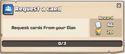 Request a Card Quest Clash Royale