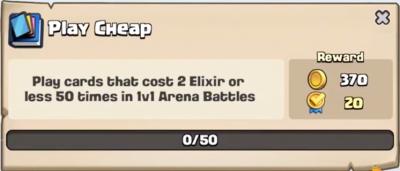 Play Cheap Quest Clash Royale