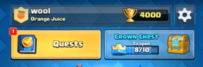 Quests Clash Royale October Update
