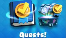 Quests Sneak Peek Clash Royale October Update