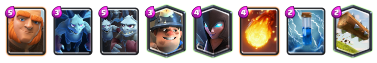 Giant Night Witch Deck Clash Royale