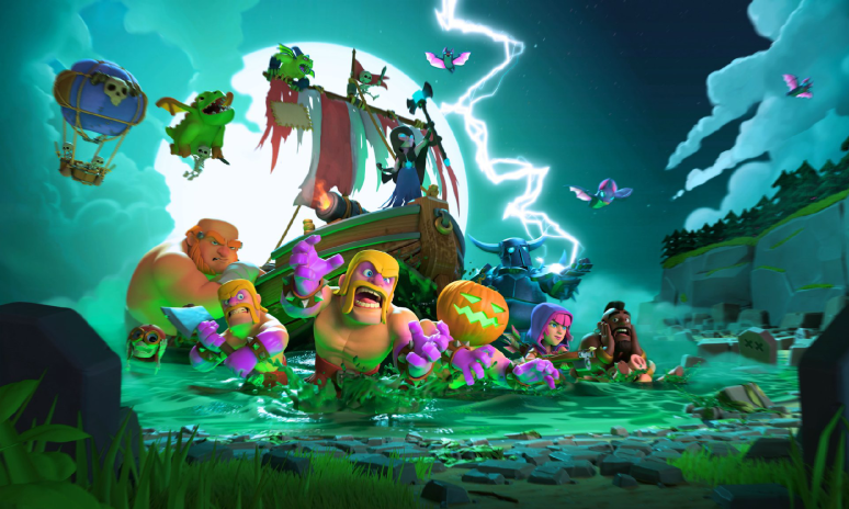 Clash of Clans Halloween 2017 Update