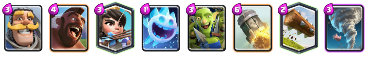 Clash Royale Hog Log Bait Deck