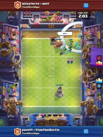 Touchdown Mode Sneak Peek Clash Royale
