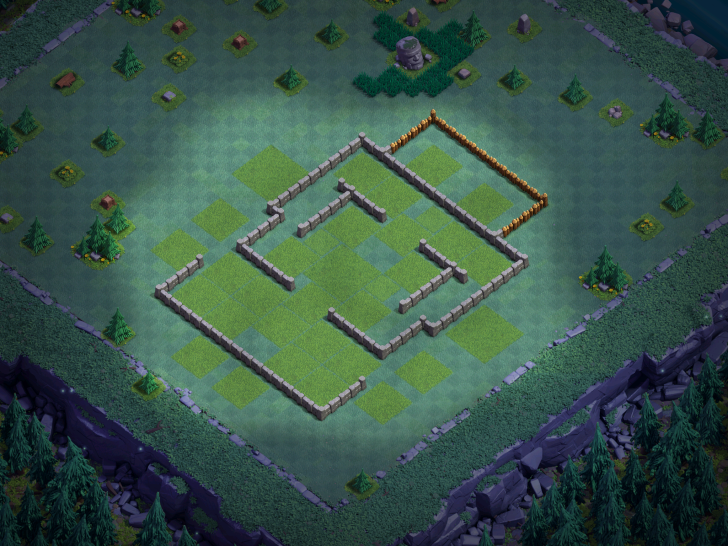 Builder Hall 6 Base Design Layout Clash of Clans