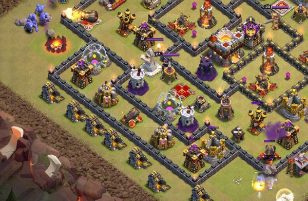 Clash of Clans Town Hall 11 Bowler Healers
