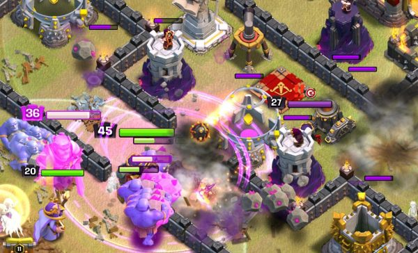 Clash of Clans Town Hall 11 Rage Spell