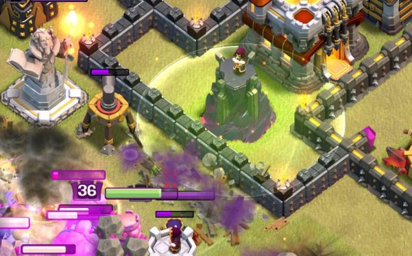 Clash of Clans Town Hall 11 Jump Spell