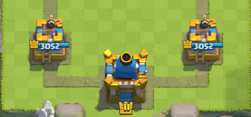 Gold Tower Skins Clash Royale
