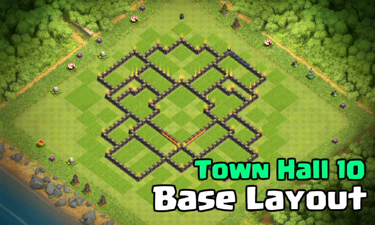 Best Town Hall 10 Base Design Layout: X-ED Out | Clash for ...