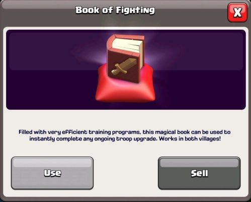 Book of Fighting Magic Item Clash of Clans