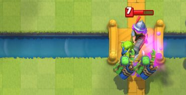 Goblin Gang vs Musketeer Clash Royale