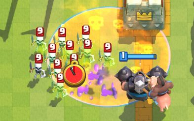 Mega Knight Poison Deck Clash Royale