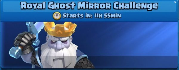 Royal Ghost Mirror Challenge Clash Royale