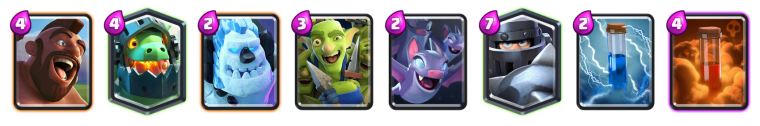 Mega Knight Hog Rider Deck Clash Royale
