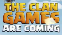 Clan Games Clash of Clans December 2017 Update