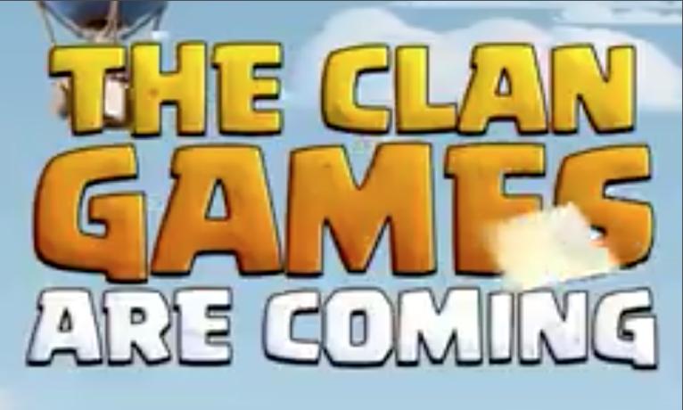 Clan Games Clash of Clans December 2017 Update