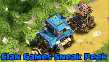 Clan Games Clash of Clans October 2018 Update