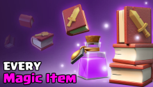 Magic Items Clan Games Clash of Clans