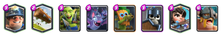 Log Bait Deck Modern Royale