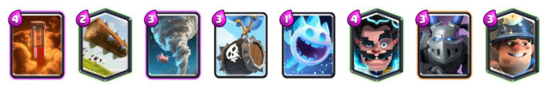 Miner Skeleton Barrel Deck Modern Royale