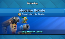 Modern Royale Challenge Clash Royale