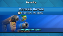 Modern Royale Challenge Clash Royale