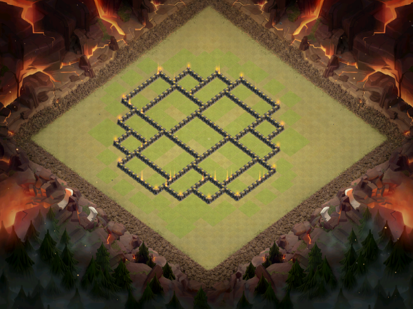 Town Hall 9 Base Design 2018 Clash of Clans