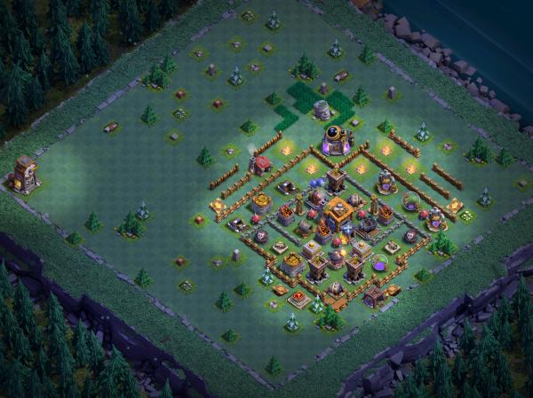 Builder Hall 7 Base Design 2018 Clash of Clans
