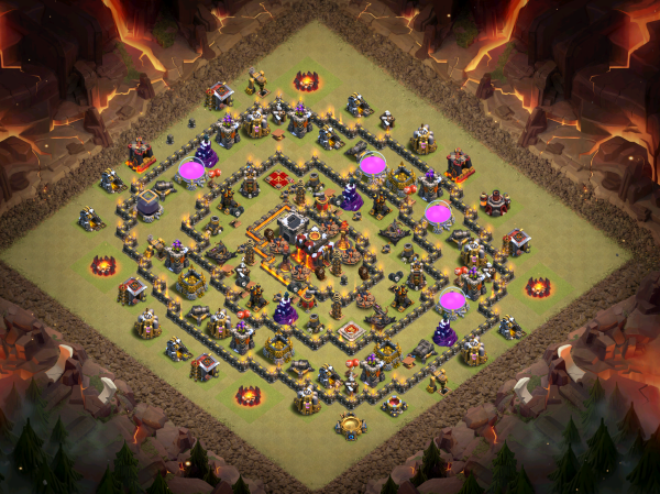 Town Hall 10 Base Design 2018 Clash of Clans