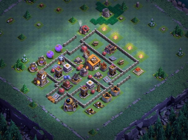 Builder Hall 6 Base Design 2018 Clash of Clans