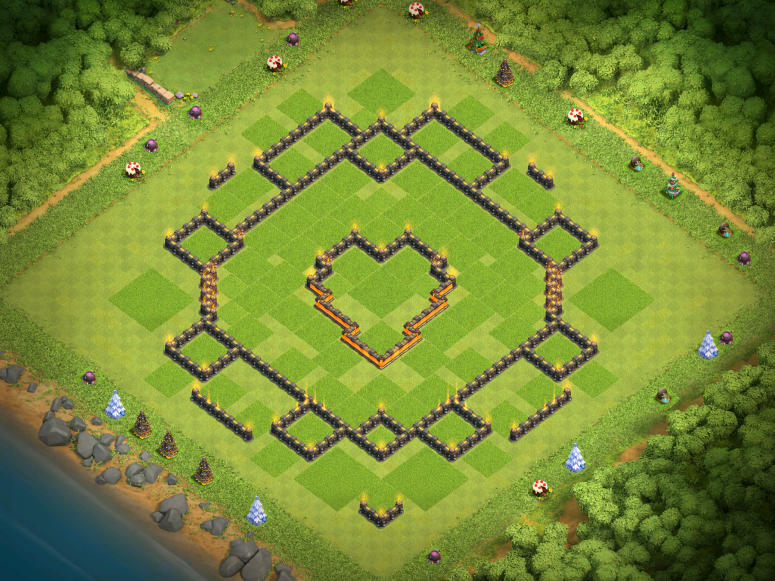 Town Hall 10 Farming Base Layout Clash of Clans