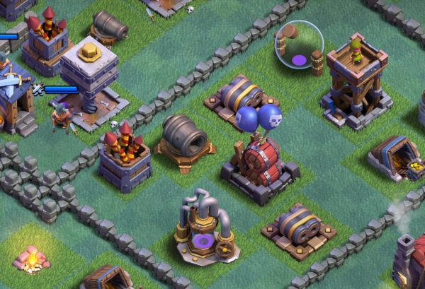 Giant Cannon Builder Hall 7 Clash of Clans
