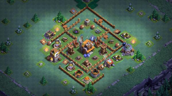 Builder Hall 5 Base Design 2018 Clash of Clans