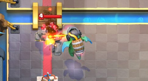 Inferno Dragon vs Golem Clash Royale
