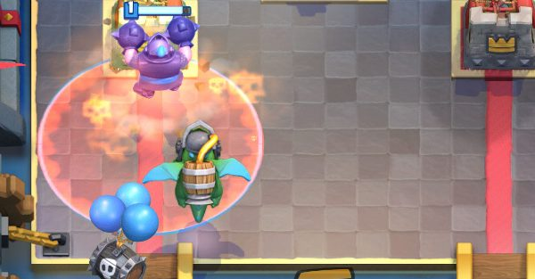 Mega Knight Inferno Dragon Clash Royale