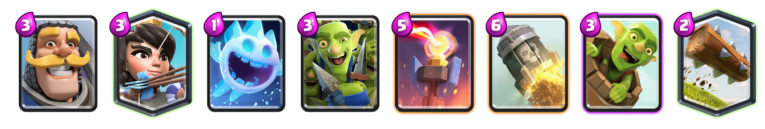 Clash Royale Log Bait Deck 2018