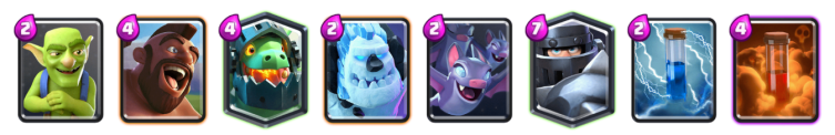 Clash Royale Mega Knight Hog Deck 2018