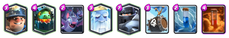 Clash Royale Mega Knight Royal Ghost Deck 2018