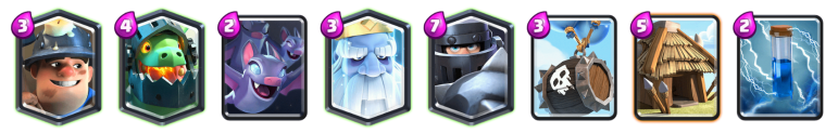 Mega Knight Royal Ghost Deck Clash Royale