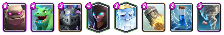 Golem Royal Ghost Deck Clash Royale