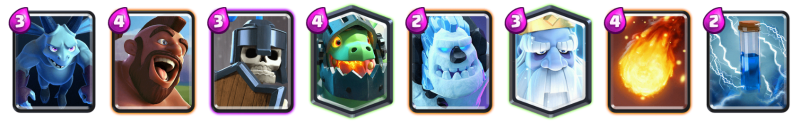 Hog Rider Royal Ghost Deck Clash Royale