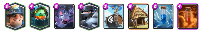 Mega Knight Goblin Hut Deck Clash Royale