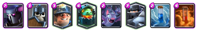 Clash Royale PEKKA Mega Knight Deck