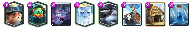 Mega Knight Royal Ghost 12 Win Challenge Deck